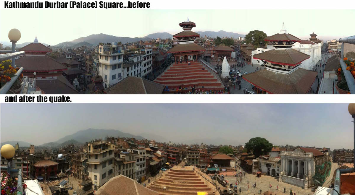KTM Durbar square before the quake
