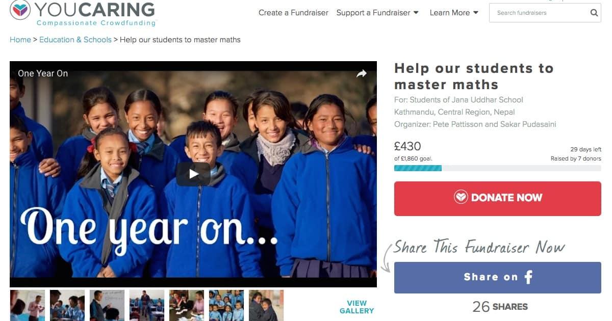 Jana Uddhar School Fundraiser-feat image