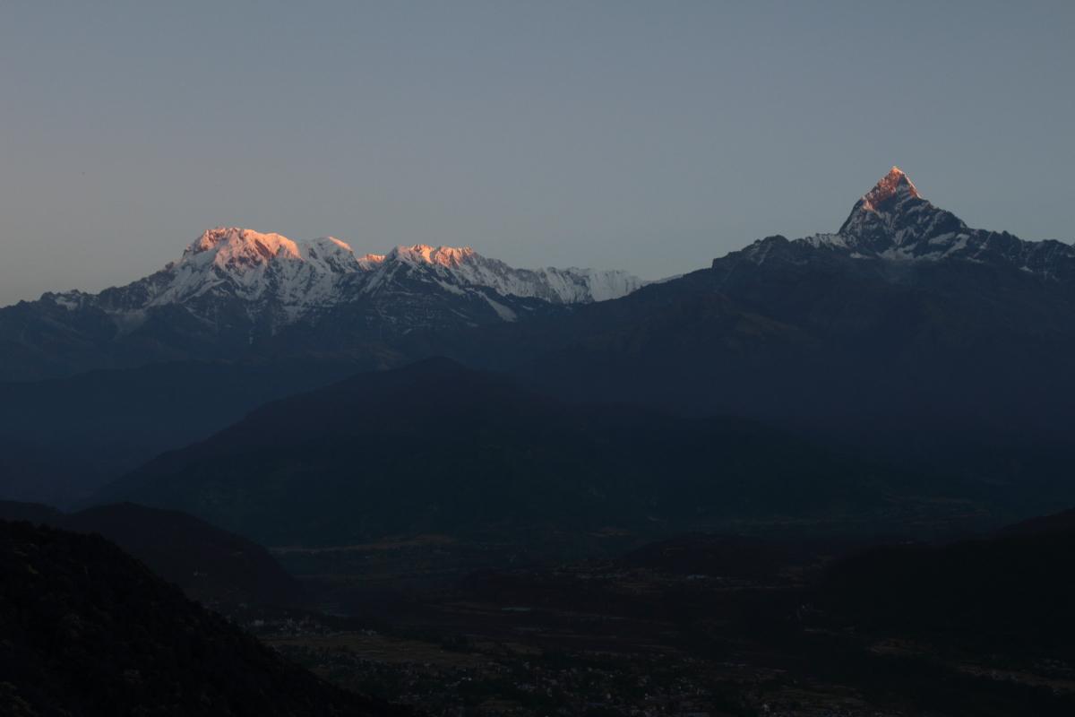 Annapurna South and Machhapuchchare