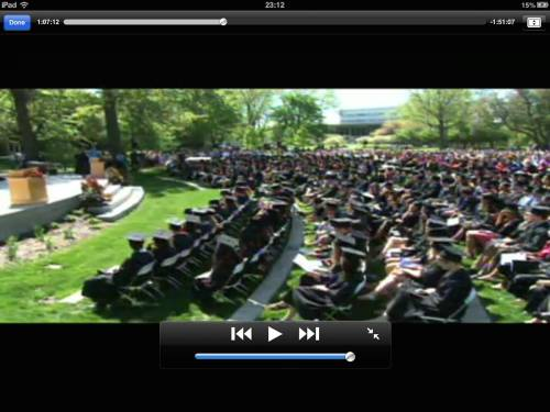 Grinnell College Commencement 2013