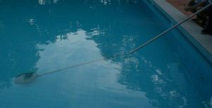 rod in pool at angle- side view 2