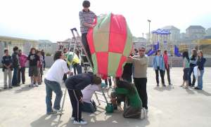 TISA Hot Air Ballooneys Go For Ballooney Baku