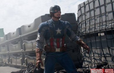 Chris Evans as Steve Rogers in 'Captain America: The Winter Soldier'