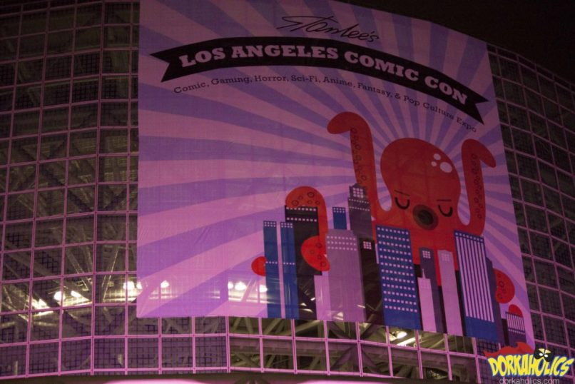 The outside of the Los Angeles Convention Center this past weekend. Photo by Neil Bui.