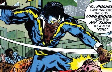 Cress Williams will be playing Black Lightning (real name Jefferson Pierce) one of the first major African American superheroes to appear in DC Comics. He debuted in Black Lightning #1 (April 1977).
