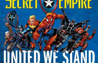 Secret Empire will be a 9-issue arc written by Nick Spencer, with cover art by Mark Brooks and interior art rotating between Steve McNiven, Andrea Sorrentino, Daniel Acuña, and Leinil Francis Yu.