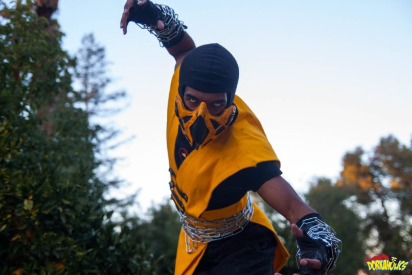 Earl Gibson as Scorpion from Mortal Kombat. Photo by Neil Bui.