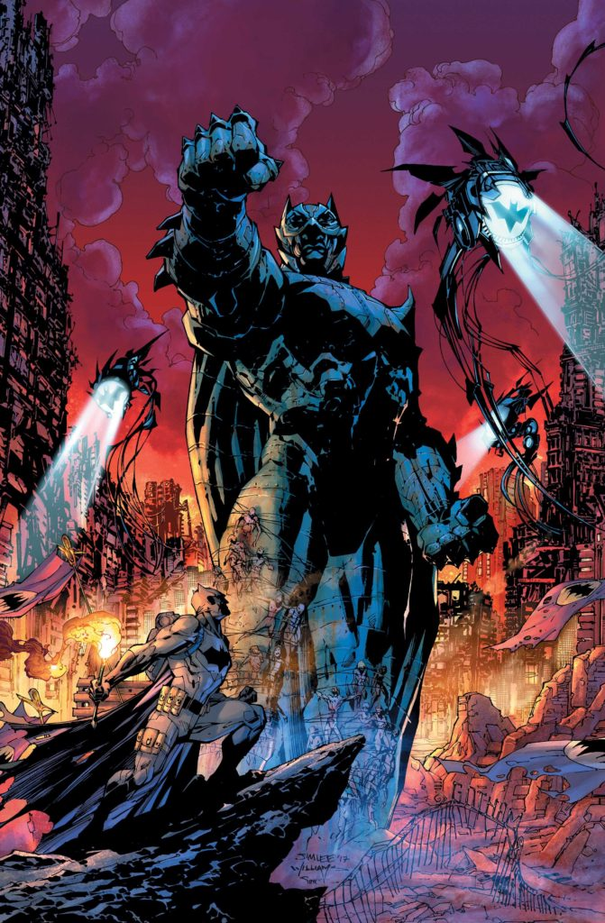 """Dark Days: The Forge"" cover by Jim Lee, Scott Williams and Alex Sinclair."