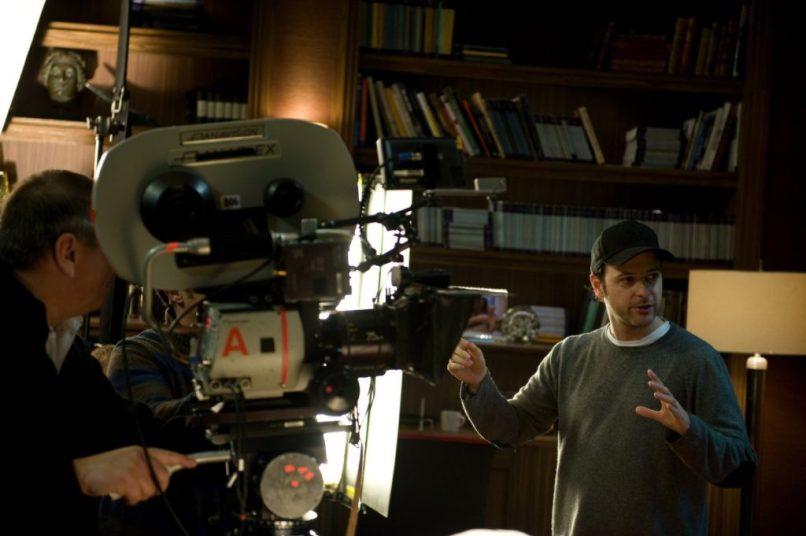Matthew Vaughn on the set of 'Kick-Ass' (2010).