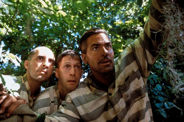 O Brother, Where Art Thou? (2000) - In the deep south during the 1930s, three escaped convicts search for hidden treasure while a relentless lawman pursues them.