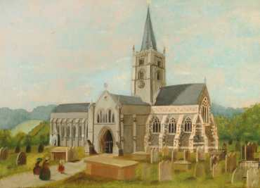 John Beckett. St Martin's Intermediate Church Exterior, Dorking