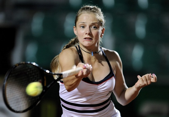 Anna Chakvetadze At WTA Rome International 2009