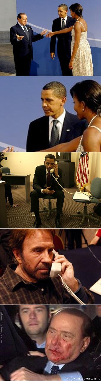 Barack Obama + Chuck Norris = Pwn