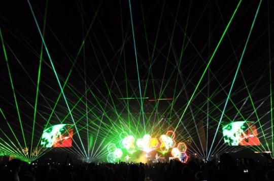 Muse at Outside Lands Festival 2011 (via Film Magic Inc)