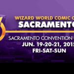 Wizard World Sacramento Comic Con 2015 Small Banner