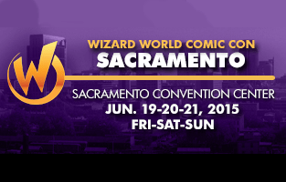 Wizard World Sacramento Comic Con 2015 Small Banner