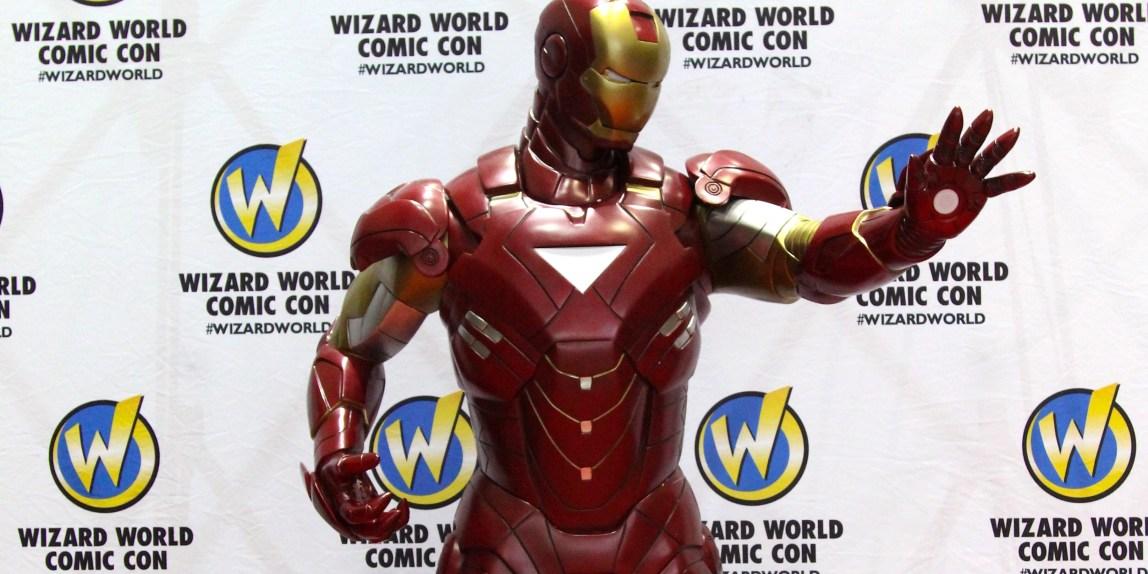 Wizard World Sacramento Comic-Con 2016 - Iron Man Figure