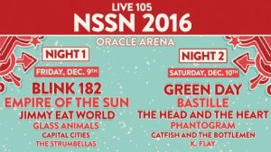 Live 105's Not So Silent Night Poster