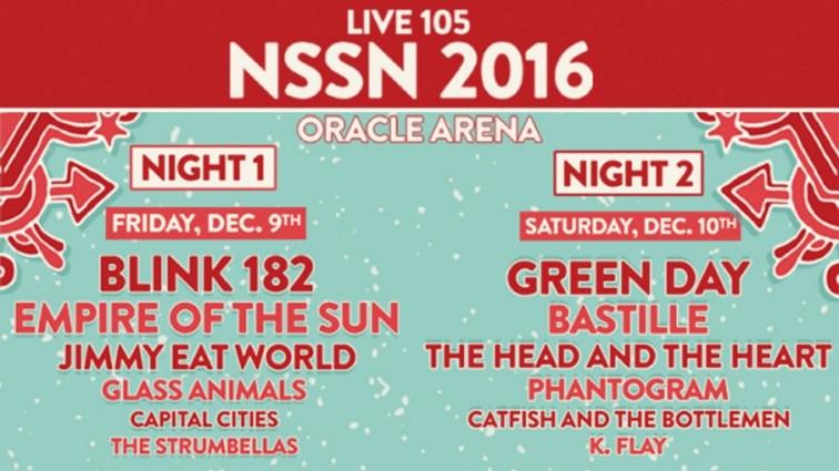 Live 105's Not So Silent Night 2016 Logo