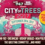 City of Trees 2017 Poster
