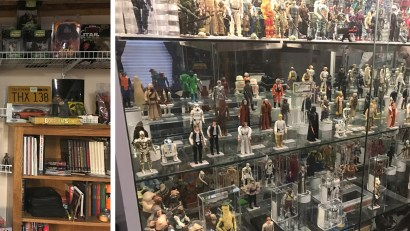 Eric Ewton and Star Wars Collectibles