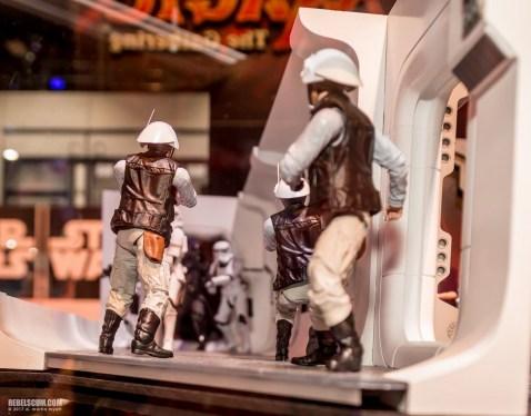 SDCC Hasbro Rebel Trooper Black Series