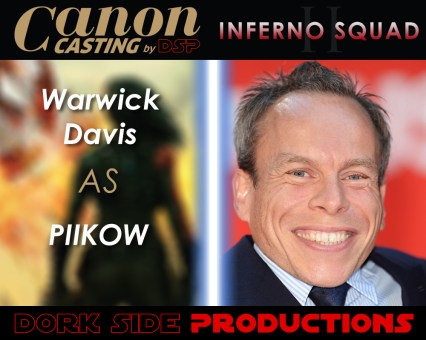 Warwick Davis as Piikow