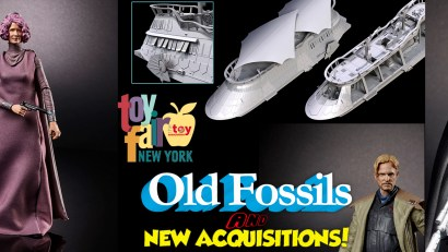Old Fossils and New Acquisitions - Toy Fair 2018