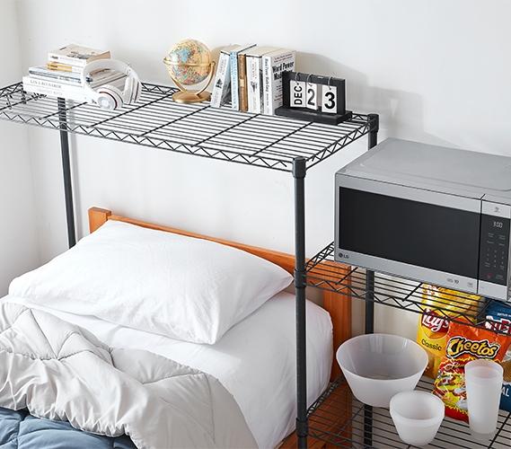 Shelf Supreme Adjustable Shelving Dorm Organization