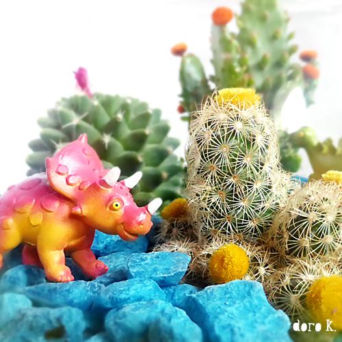 Terrarium für Dinos