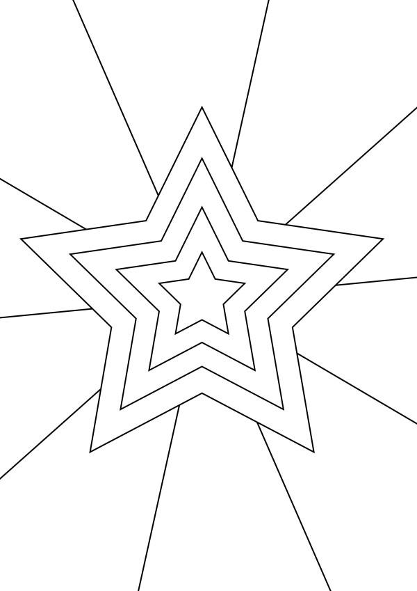 Vorlage Stern