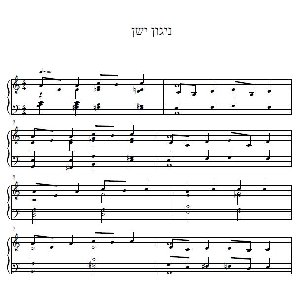 ניגון-ישן