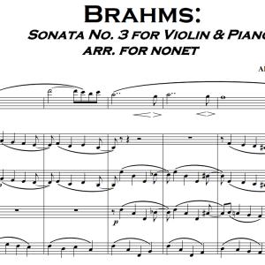 ברהמס סונטה לכינור