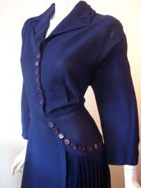 40s dress xl vintage dress