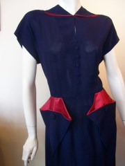 40s dress vintage dress vintage clothing
