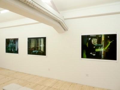 Ausstellungsansicht Galerie Monika Wertheimer 2015, Oberwil