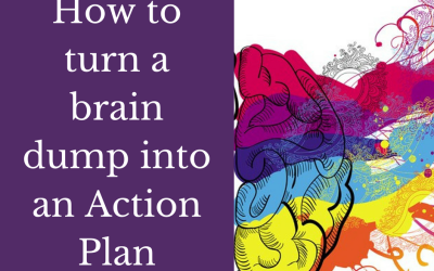 How to turn a brain dump into an action plan [Step by step tutorial]