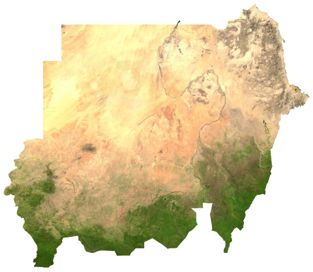 """Sudan sat"". Licensed under Public Domain via Wikimedia Commons - http://commons.wikimedia.org/wiki/File:Sudan_sat.jpg#/media/File:Sudan_sat.jpg"
