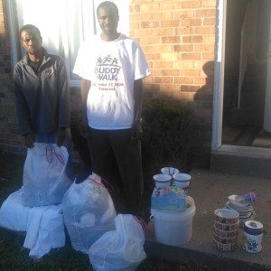 Nov. 19, 2015 pic with donations, 1