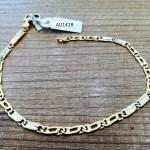 €260,00 – Bracciale in oro giallo e bianco 18k (750/1000)
