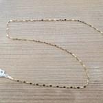€209,00 – Collana a maglie perpendicolari schiacciate in oro giallo 18k (750/1000)