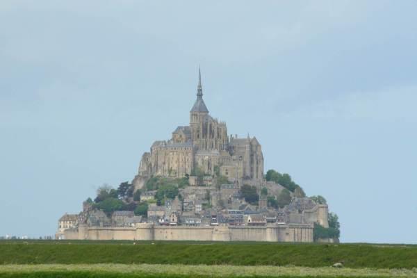 mont saint michel normandie frankrijk