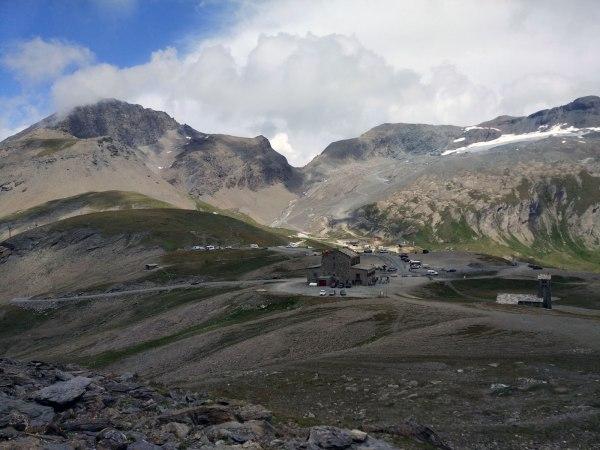 De Col de d'Iseran in de Franse Alpen
