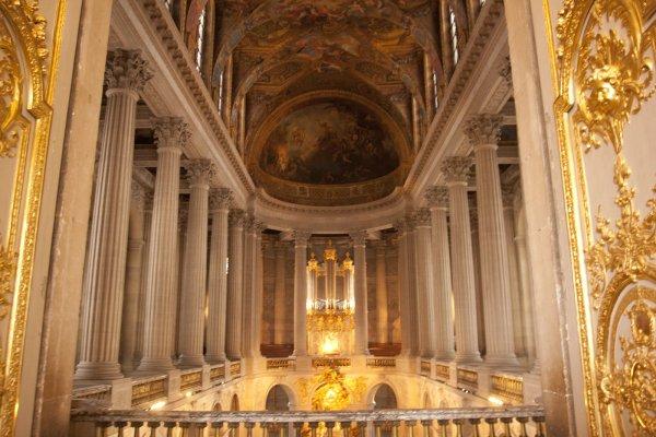 De koninklijke kapel van Versailles