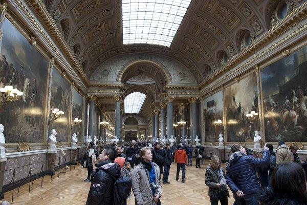Gelerij der veldslagen in het kasteel van Versailles