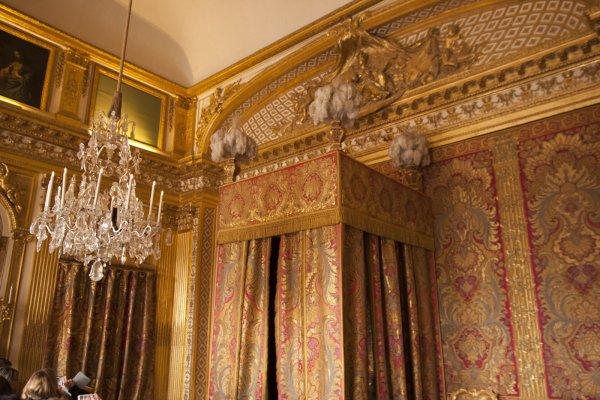 Slaapkamer van Lodewijk XIV in het kasteel van Versailles