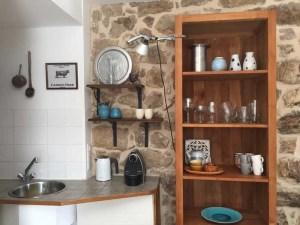 Detail keuken gite l' Hirondelle