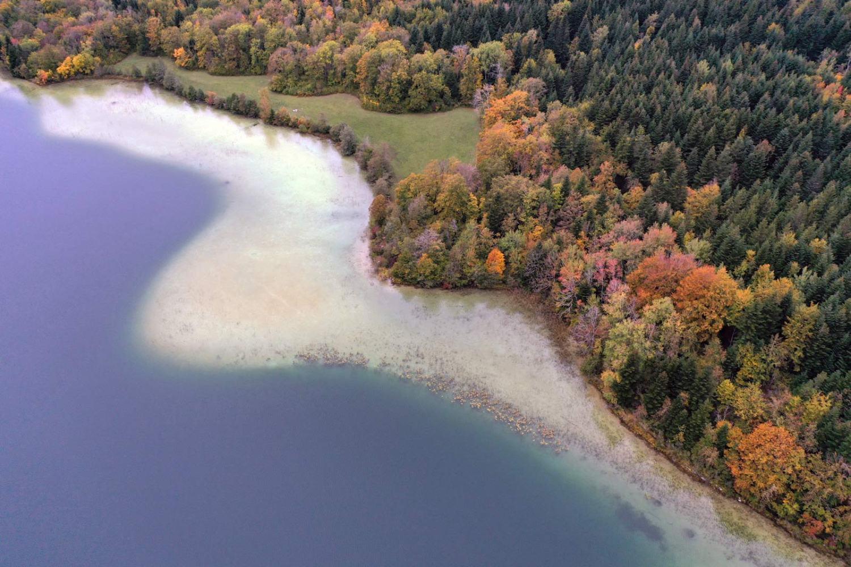 Quatre lac in de Jura