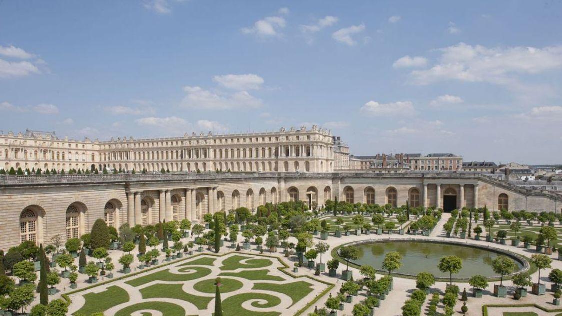 Kasteel en tuinen van Versailles