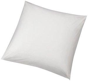 AmazonBasics Lot de 2 taies de protection hypoallergénique pour oreiller Blanc 65 x 65cm
